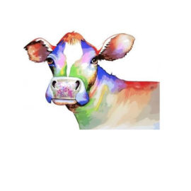 Colourful Cow