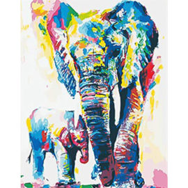 Colourful Elephant 4