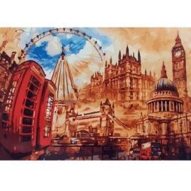 Schilderen Op Nummer London Compleet