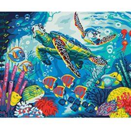 Schilderen Op Nummer Sea Life