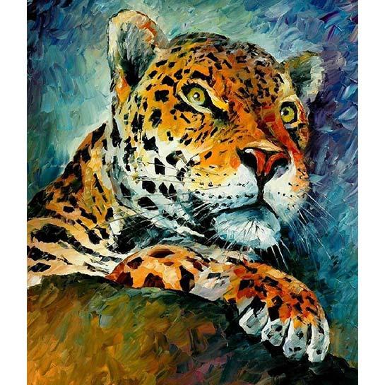 Jaguar Schilderen Op Nummers
