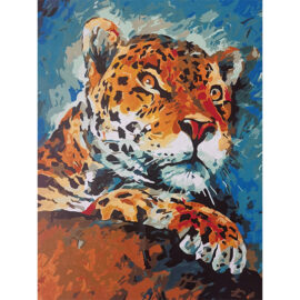 Jaguar Schilder Op Nummer