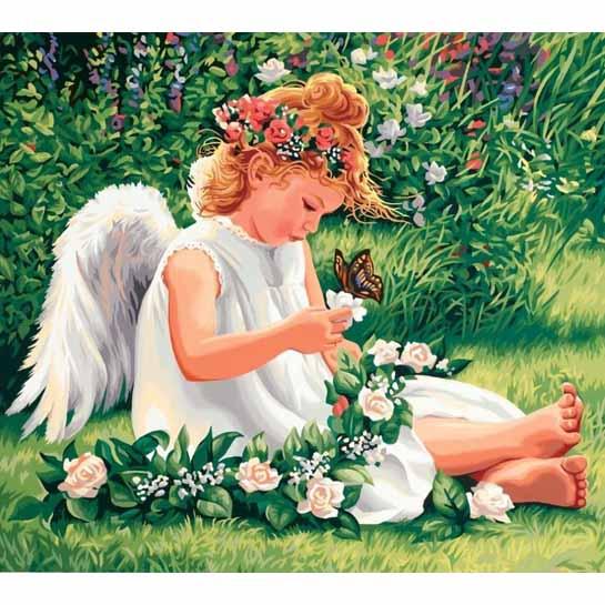 Engel In Het Gras 545x545