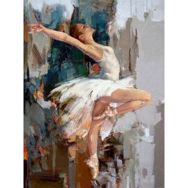 Ballerina In Het Wit