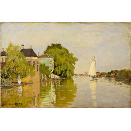 Claude Monet Houses On The Achterzaan