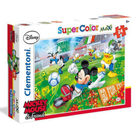 Puzzel Disney Mickey Mouse And Friends Voetbal 1